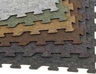 8mm Carpet/Rubber Tiles - Signature Series