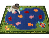 Joy Carpets Fishers Of Men Kids Rug