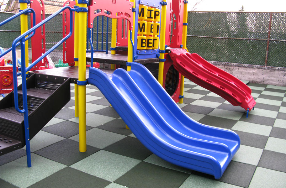 Jamboree Playground Tiles Designer Series Rubber Surface