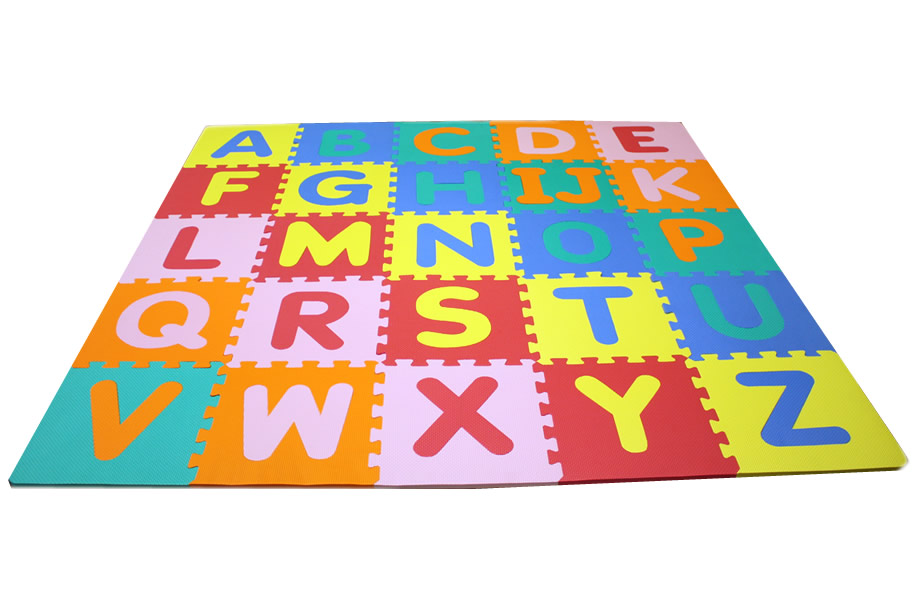 Foam Alphabet Mat - Interlocking Kids Floor Mat