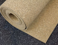 Rubber Rolls Or Rolled Vinyl Flooring For Gyms And Garages