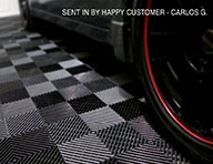 Vented Grid-Loc Tiles