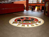 2.5mm Stained Concrete Vinyl Tiles