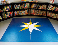 2.5mm Sparkly Chips Vinyl Tiles