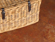 2.5mm Rusted Steel Vinyl Tiles