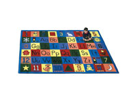 Joy Carpets Around the Block Kids Rug