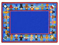 Joy Carpets Children of Many Cultures Kids Rug