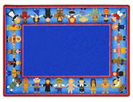 Joy Carpets Children of Many Cultures Kids Rug