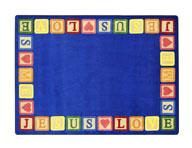 Joy Carpets Blocks Of Love Kids Rug