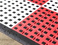 Premium Flow Thru Tiles w/ Traction Squares