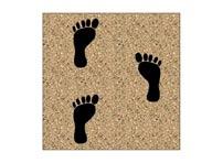Jamboree Footprint Playground Tiles