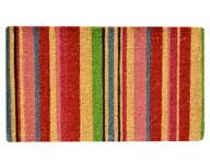 Striped Coir Doormat
