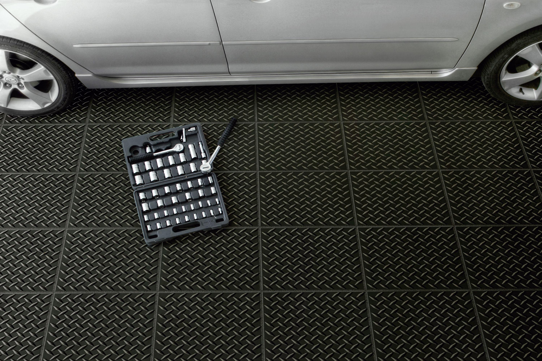 Vinyl Garage Flooring Roll Out Garage Floor Covering