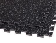 "3/8"" Soft Rubber Tiles - Reversed"