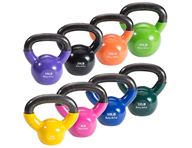 Body-Solid Vinyl Coated Kettlebell Sets