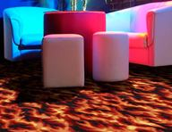 Joy Carpets Neon Lights Carpet - Inferno