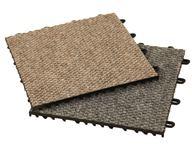Carpet-Loc Tile Remnants