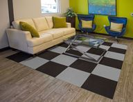 Ribbed Carpet Tile - Area Rug Kits