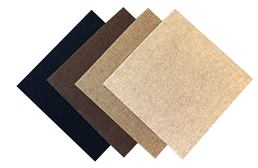 Premium Ribbed Carpet Tile - Overstock