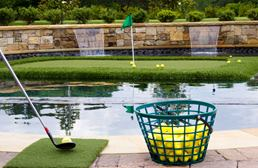 Floating Putting Green Mats