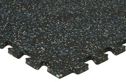 Home gym flooring in interlocking tiles rolls and mats