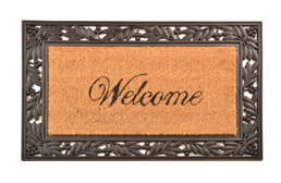 Cocoa Welcome Mat