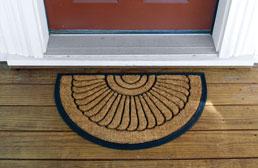 Cocoa Crescent Mat
