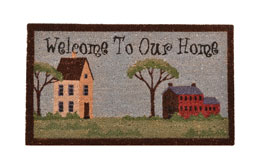 Welcome To Our Home Coir Doormat