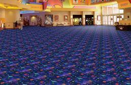 Joy Carpets Neon Lights Carpet - Space Explorer