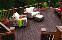 "1"" Trex Transcend - Square Edged Decking Board"