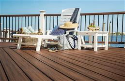 "2"" Trex Transcend - Square Edged Decking Board"