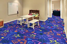 Joy Carpets Kid's Art Carpet