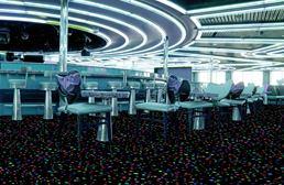 Joy Carpets Neon Lights Gold Rush Tile