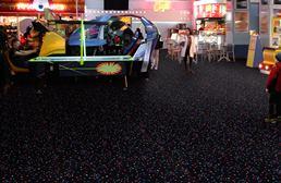 Joy Carpets Neon Lights Carpet - Starry Night