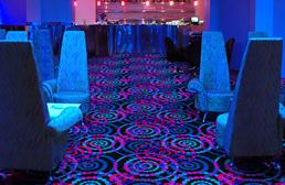Joy Carpets Neon Lights Carpet - Dottie