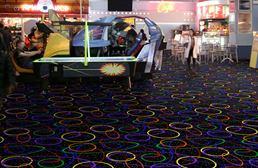 Joy Carpets Neon Lights Carpet - Looped
