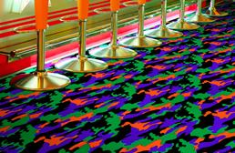 Joy Carpets Neon Lights Carpet - Thriller