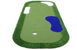5' x 12' Putting Green Mats w/ Hazards