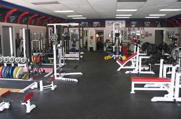 Inch rubber gym tiles interlocking floor