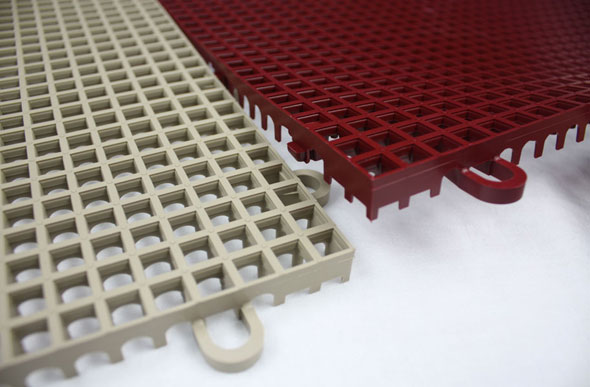 Smooth Grip-Loc Tiles