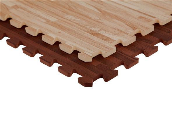 Inch Soft Wood Tiles Modular Foam Flooring