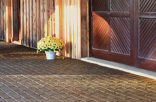Cobblestone Rubber Pavers