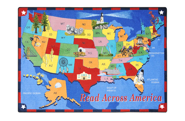 Joy Carpets Read Across America Kids Rug