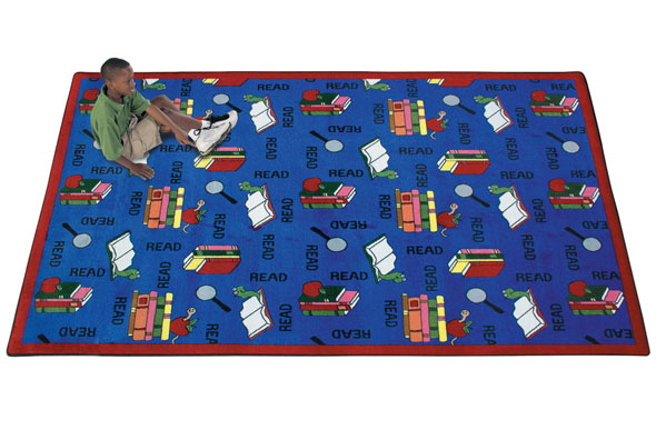 Joy Carpets Bookworm Kids Rug