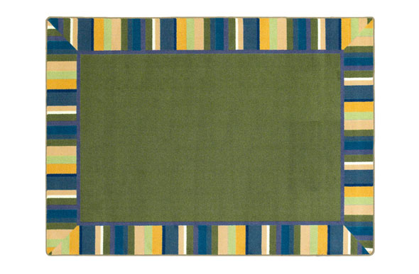 Joy Carpets Clean Green Kids Rug
