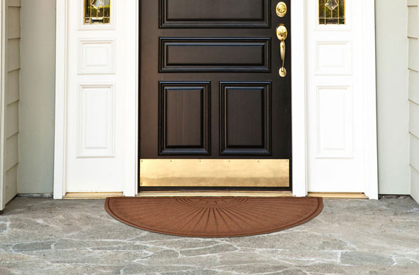 Guzzler Sunburst Door Mat