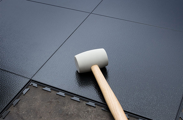 6 5mm Smooth Flex Tiles Commercial Floor Tiles