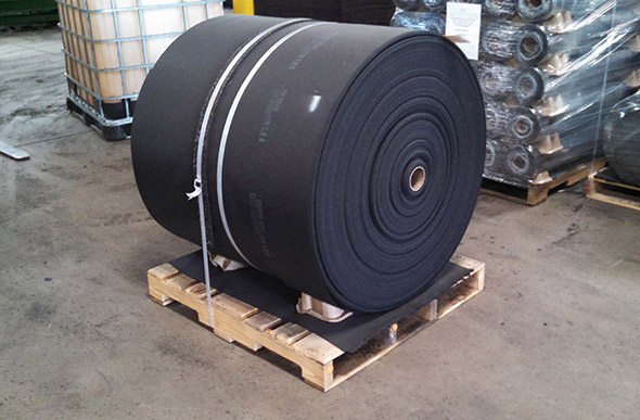 Anti-Skid Rubber Rolls - Bulk