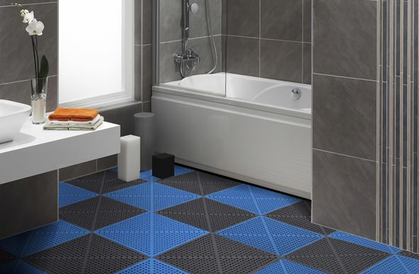 Soft Flex Tiles Premium Shower And Pool Deck Drainage Tiles