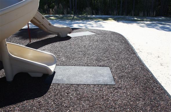 Playground Slide Mats High Quality Rubber Wear Mats